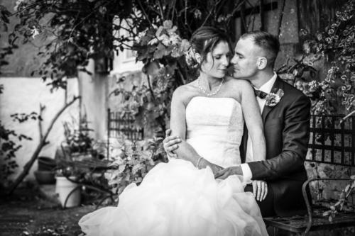 Hochzeitsfotografiebrautpaar